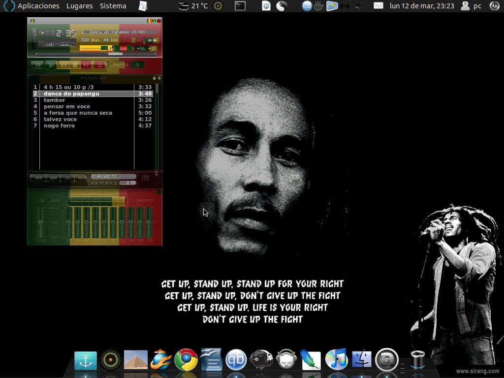 Jah Rasta man (Audacious skin)