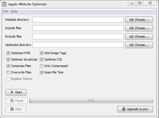 Japplis Website Optimizer Portable