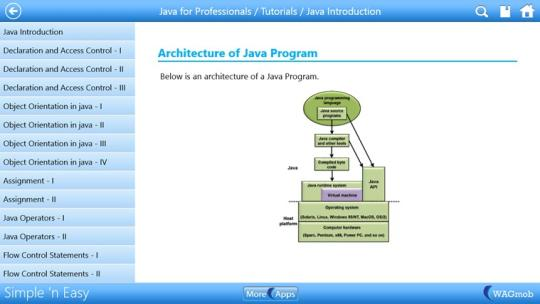 Java for Professionals by WAGmob