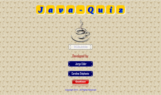 JavaQuiz
