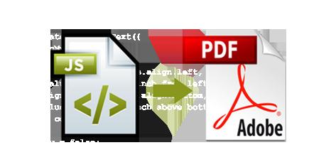 Javascript to PDF Embedder