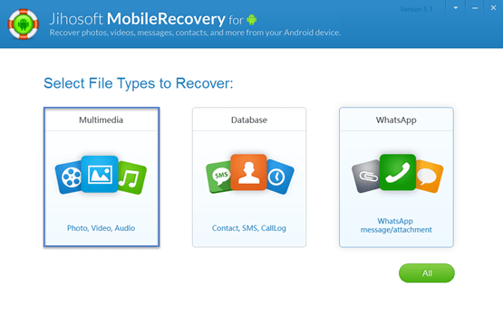 Jihosoft Android File Recovery