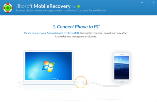 Jihosoft Data Recovery for Android