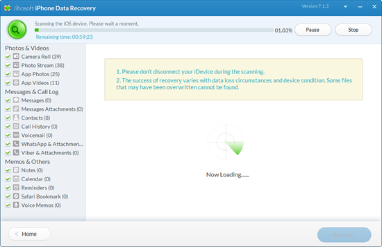 Jihosoft iPhone Data Recovery