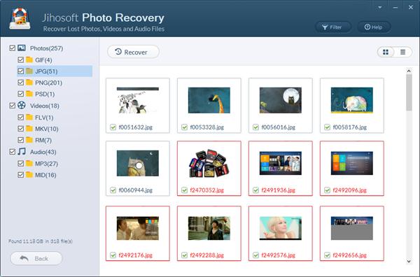 Jihosoft Photo Recovery