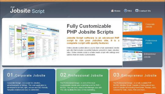 Job Site Script