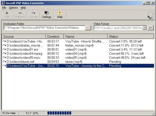 Jocsoft PSP Video Converter