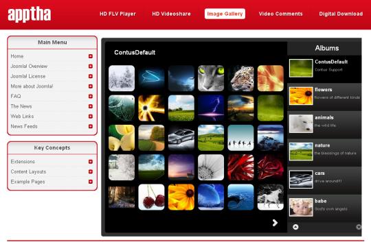 Joomla Image Gallery