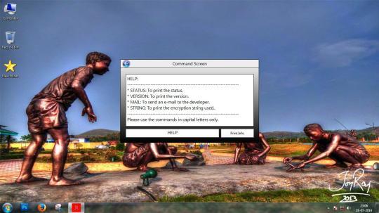 JoyRaj Text File Encryption Program