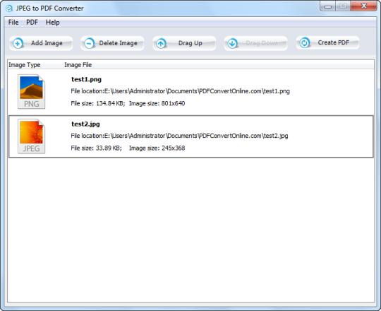 JPEG to PDF Converter