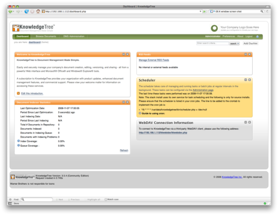 JumpBox for KnowledgeTree Document Management
