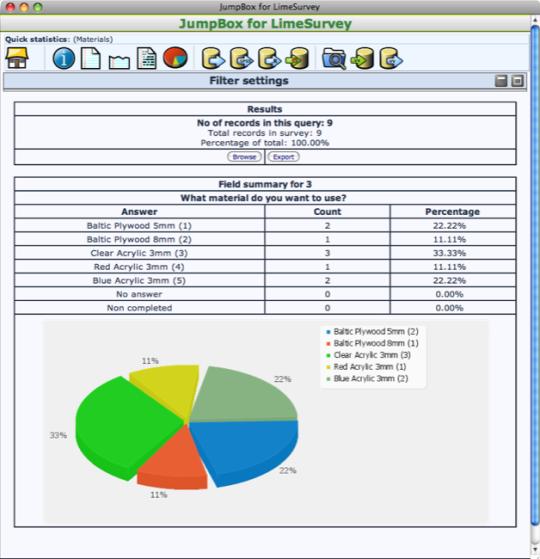 JumpBox for LimeSurvey Online Surveys