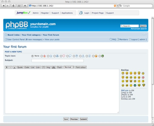 JumpBox for phpBB Discussion Forums
