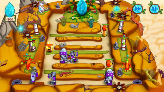 Jungle vs. Droids