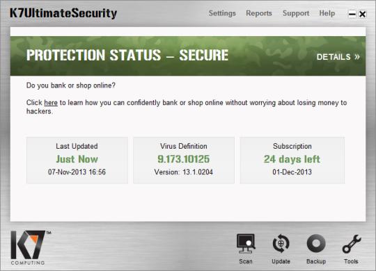 K7 Ultimate Security