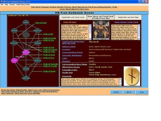 Kabbalah Runes