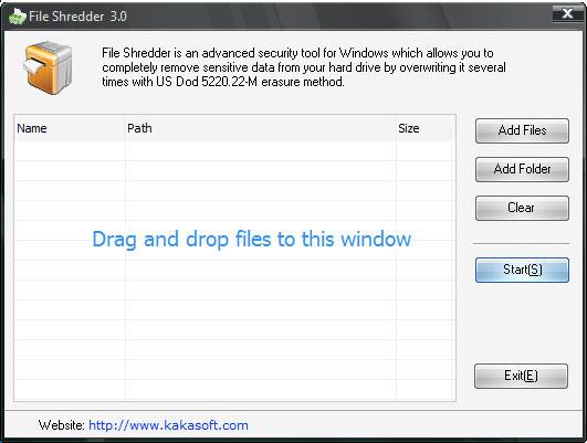 KaKa File Shredder