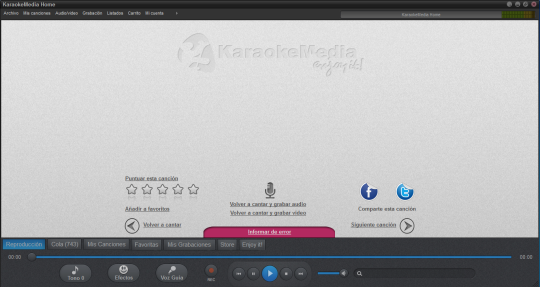Karaokemedia home