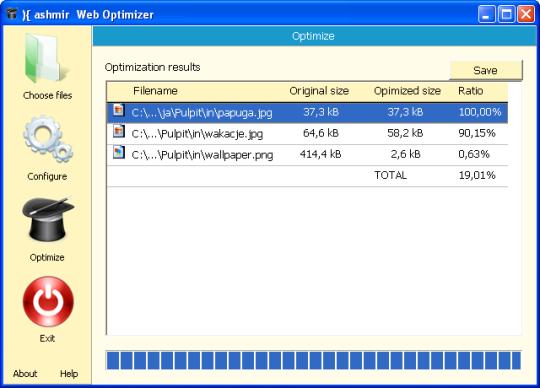Kashmir Web Optimizer
