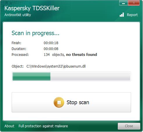 Kaspersky TDSSKiller