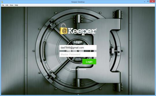 Keeper Desktop
