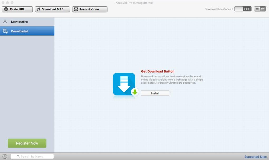 KeepVid Pro for Mac