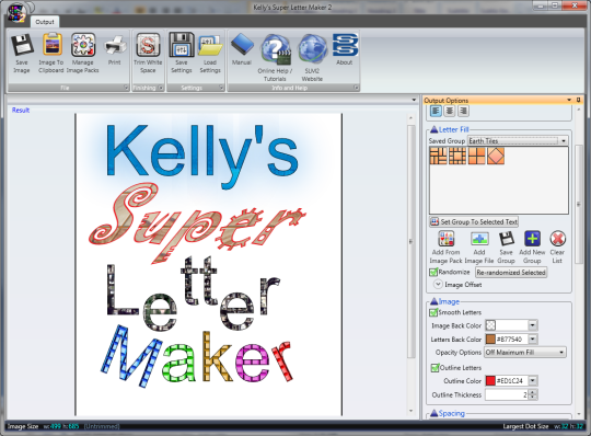 Kellys Super Letter Maker 2