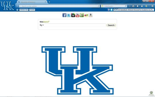 Kentucky Wildcats Theme for Firefox