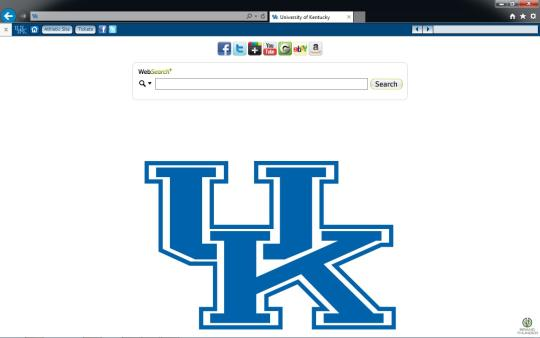 Kentucky Wildcats Theme for Internet Explorer