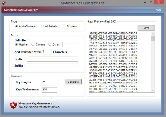 Key Generator Lite