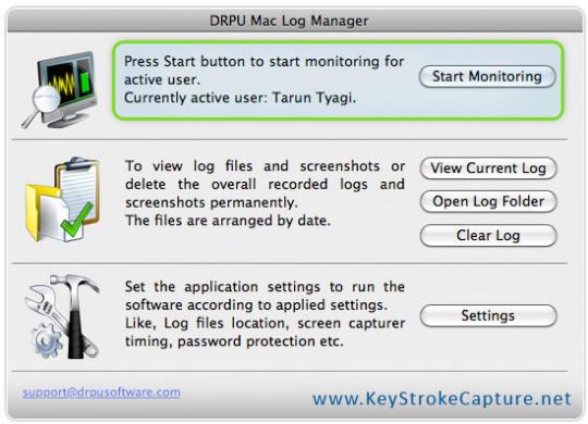 Keystroke Capture Software