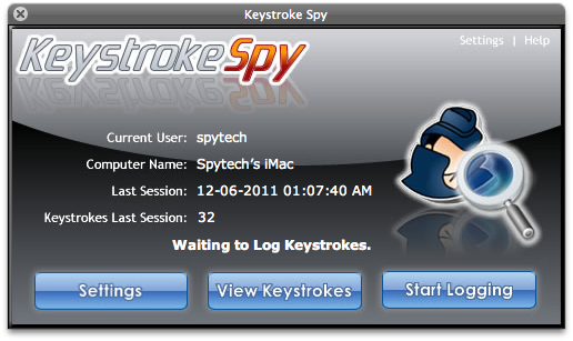 Keystroke Spy
