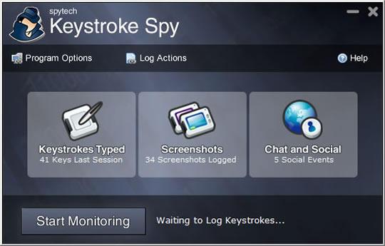Keystroke Spy