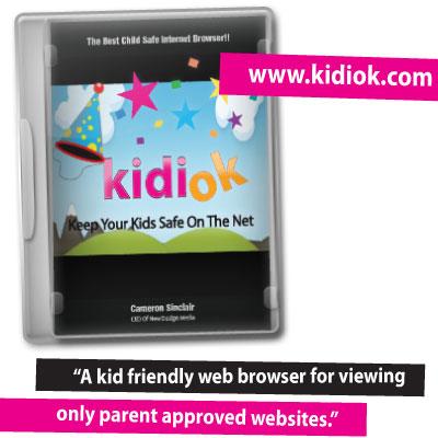 Kidiok - Child Safe Web Browser