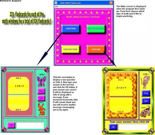 Kids Math Flashcards