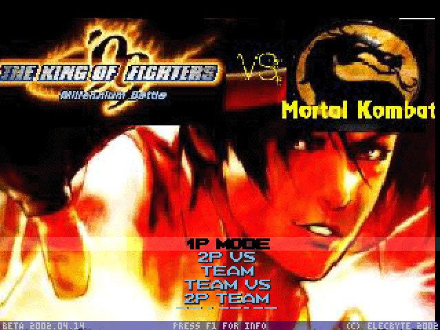 رایگان دانلود King of Fighters vs  Mortal Kombat برای