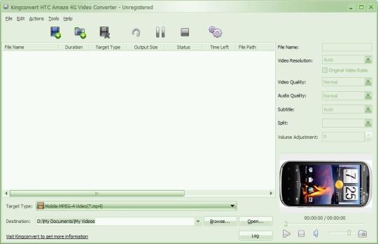 Kingconvert HTC Amaze 4G Video Converter