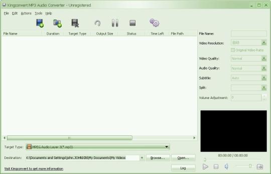 KingConvert MP3 Audio Converter