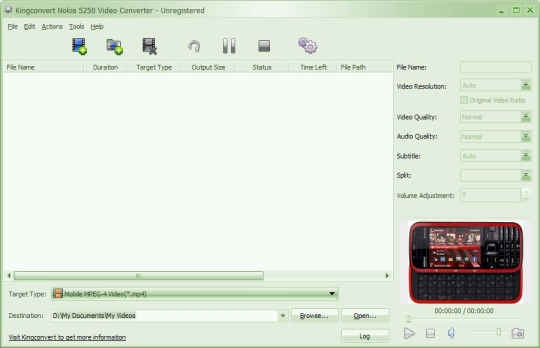 KingConvert Nokia X2 Video Converter
