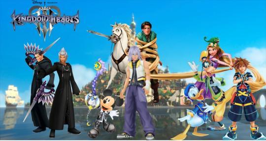 Kingdom Hearts 3 Theme HD Backgrounds