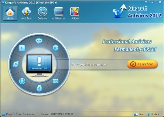 Kingsoft Antivirus 2012