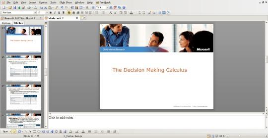 Kingsoft Presentation 2012