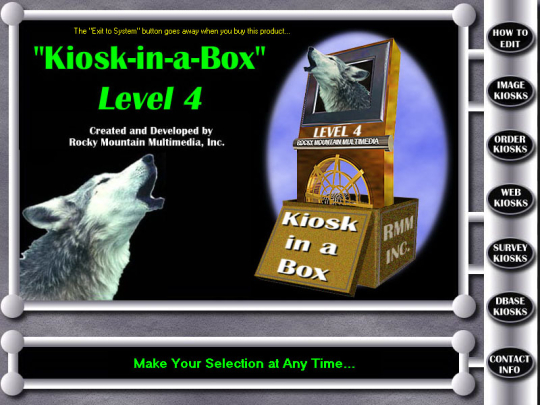 Kiosk-in-a-Box