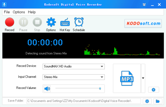 Kodosoft Digital Voice Recorder
