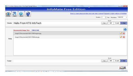 KTS InfoMate Free Edition