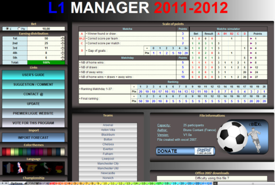 L1 Manager 25
