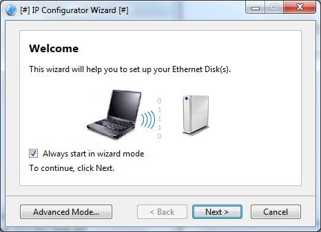 LaCie IP Configurator