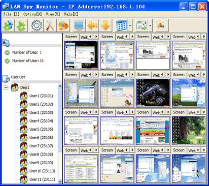 LAN Spy Monitor
