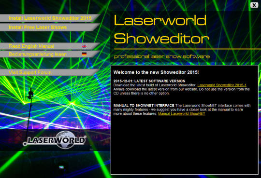 Laserworld Showeditor Free