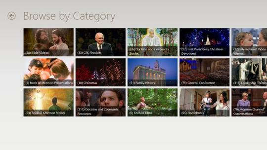 LDS Videos for Windows 8